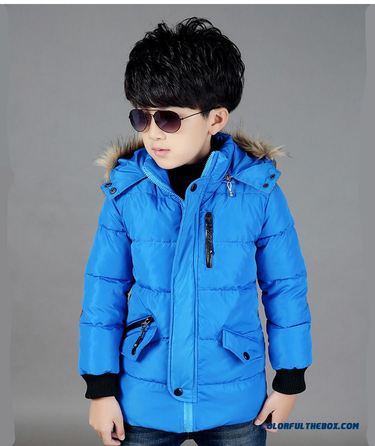 00e985b1273d Cheap Boy s Coat Of 6-7-8-9-10 Years Old Kids Winter Coat Thick ...