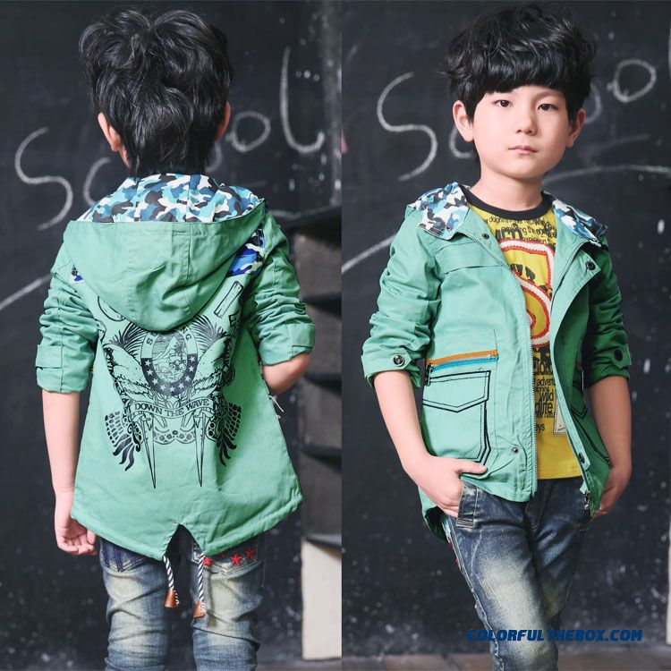 Boy's Outfits Cotton Cardigan Long-sleeved Hoodies Free Shipping Cheap Wholesale Clothing For Kids
