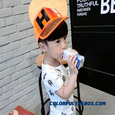 Boys And Girls Summer Peaked Cap Baby Baseball Boys Kids Boys Transparent Sunshade Hats Mesh Cap