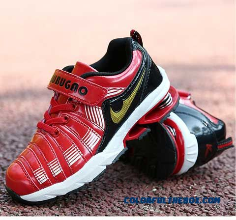 Boys Running Shoes Basketball Shoes Kids Wear - Resistant Spring Damping Blade Xsoles