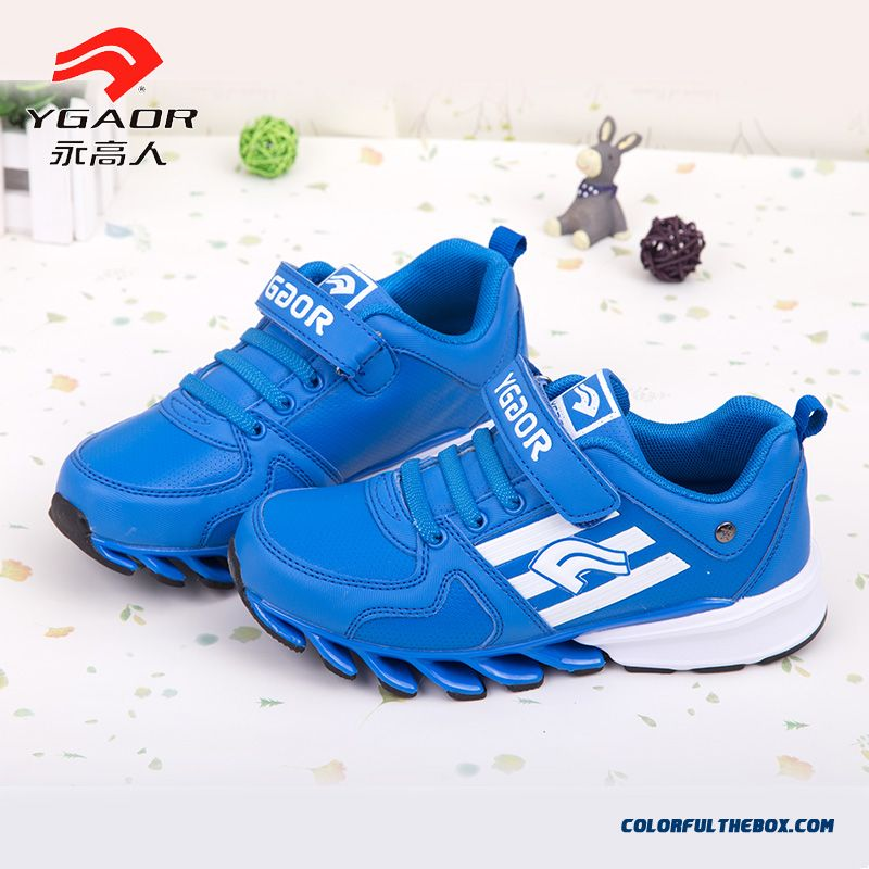 cheap boys sports shoes blade soles running shoes