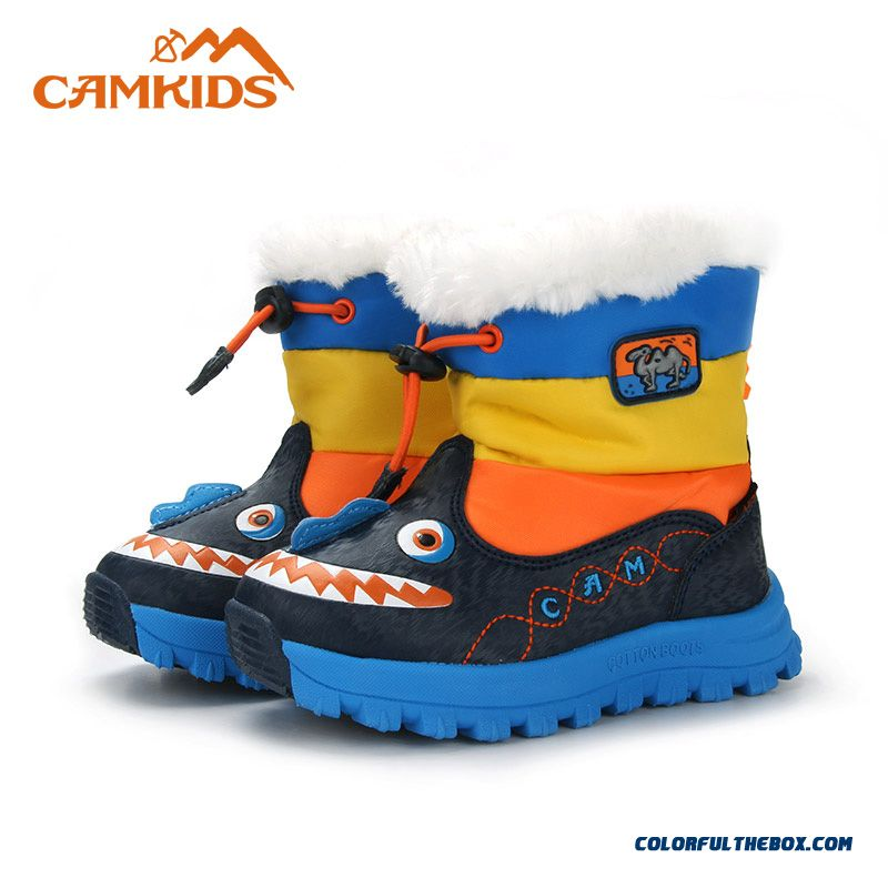 Camkids Small Camel Boys Kids Cartoon Fashion Boots Waterproof For Kids