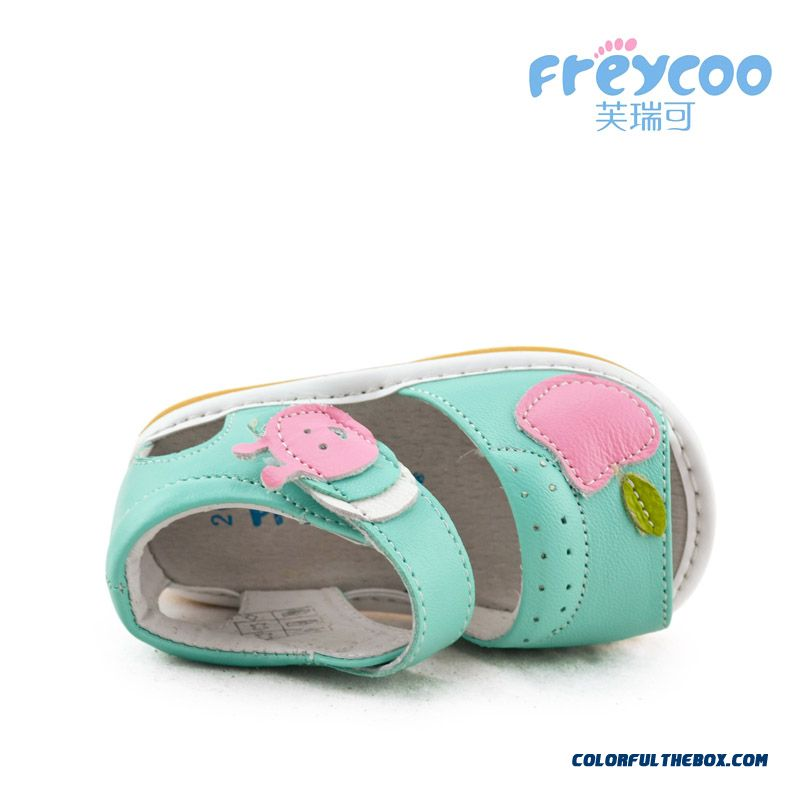 Candy-colored Girl Baby Shoes Princess Summer Sandals Breathable Kids Shoes - more images 3