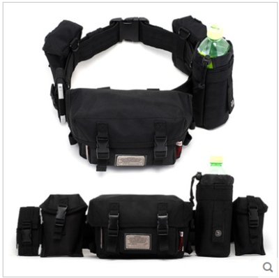 Casual Bags Kettle Bag 16x20x10cm Waist Packs Removable Multifunctional Outdoor Sport Men's Bags