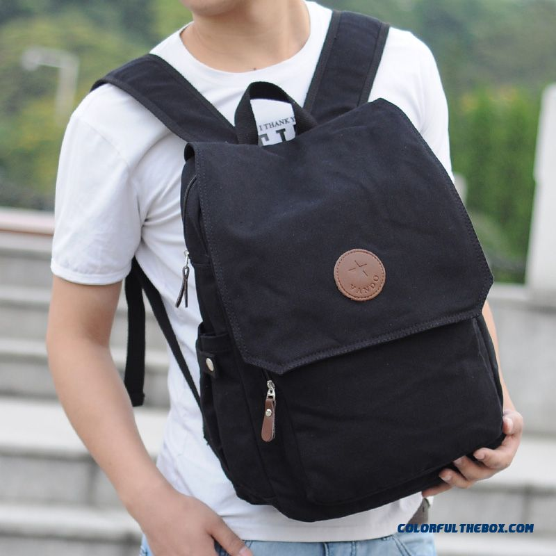 Casual College Style Of Simple Clamshell Fashion Backpack Fashion Bag Used By Men