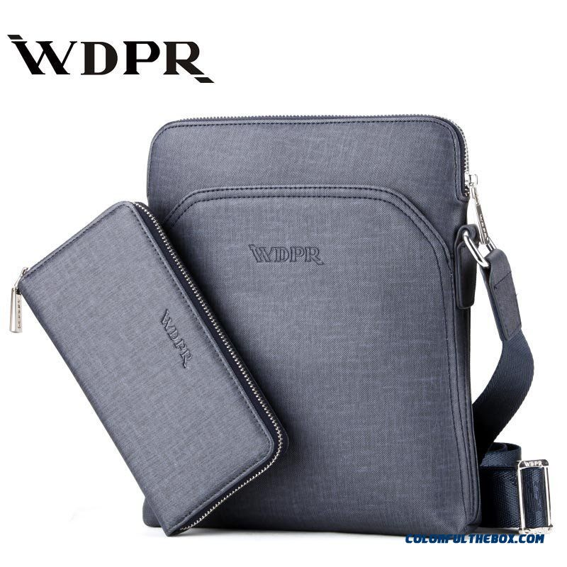 Casual Shoulder Bag Crossbody Vertical Section Briefcase Used By Men
