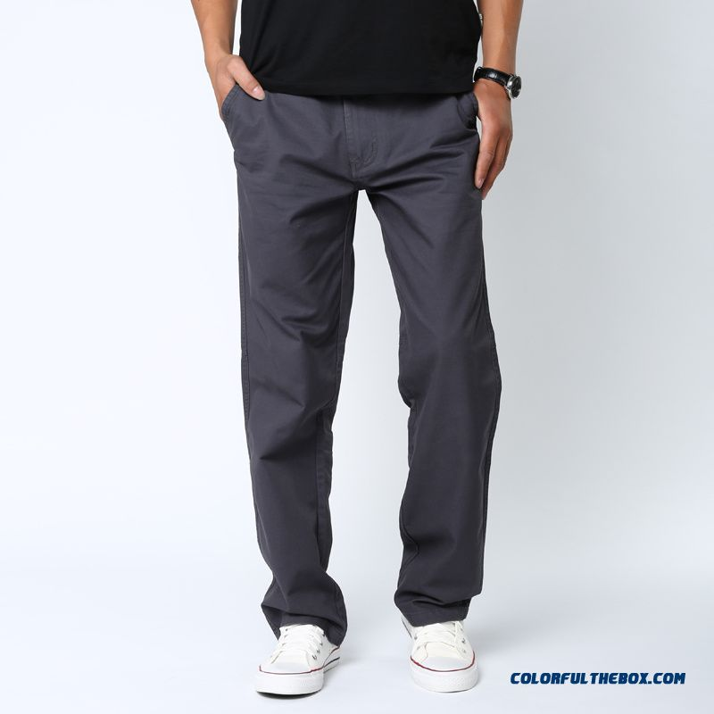 Casual Sports Pants Loose Large Size Straight Long Multi-pocket Men's Pants