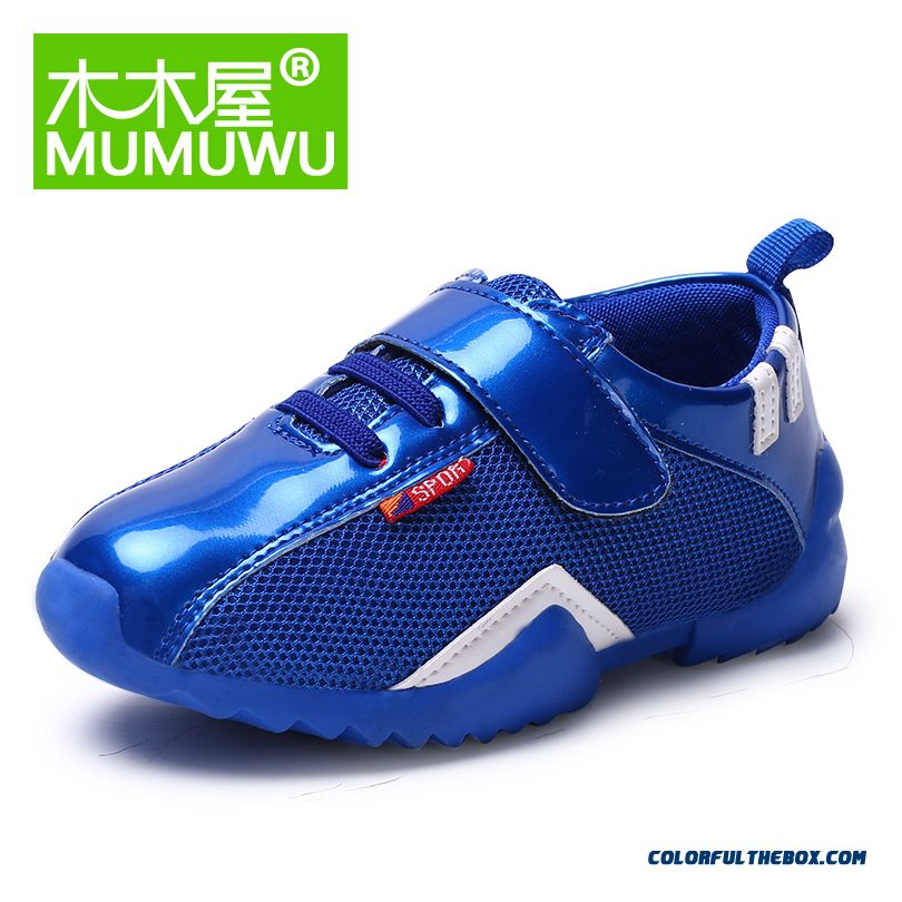 Casual Vogue Shoes For Boys And Girls Sports Shoes Breathable Baby Running Shoes Red Black Blue 3 Kinds Of Colors Avaliable