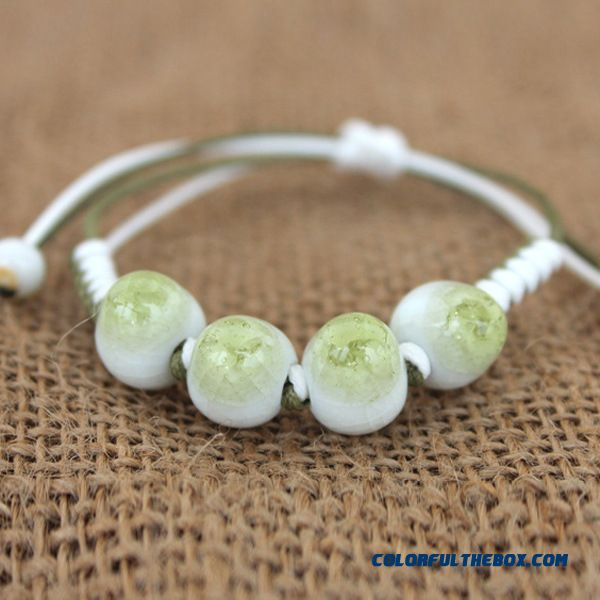 Ceramic Bracelet Jingdezhen Hand Made Creative Gifts Bangle For Women
