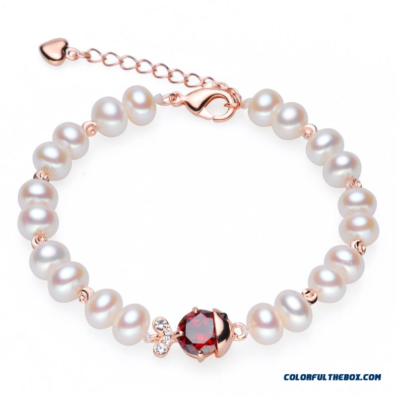 Chawol Fashion Hslc48055 Korean Natural Freshwater Pearl Bracelet Women Jewelry