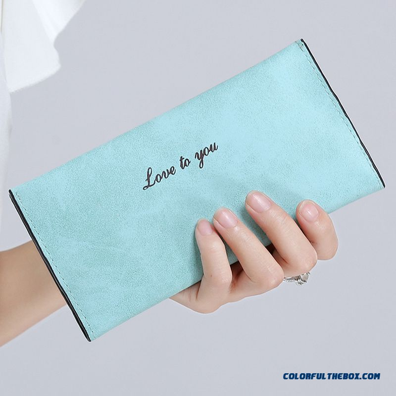 Cheap And Fashion Ultrathin Style Card Holder Bag Purse Long Women Wallets