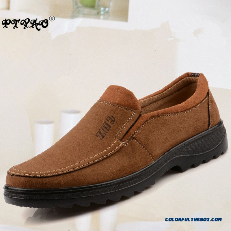 Cheap Platform Shoes 2016 High Quality Synthetic Suede Men Flats Slip On Loafers Man Driving Moccasins Flat Shoes