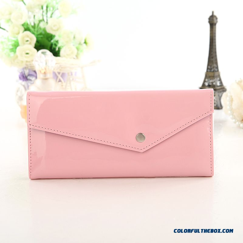 Cheap Top Quality Ultrathin Zipper Card Package Envelope-style Small Clutch For Women