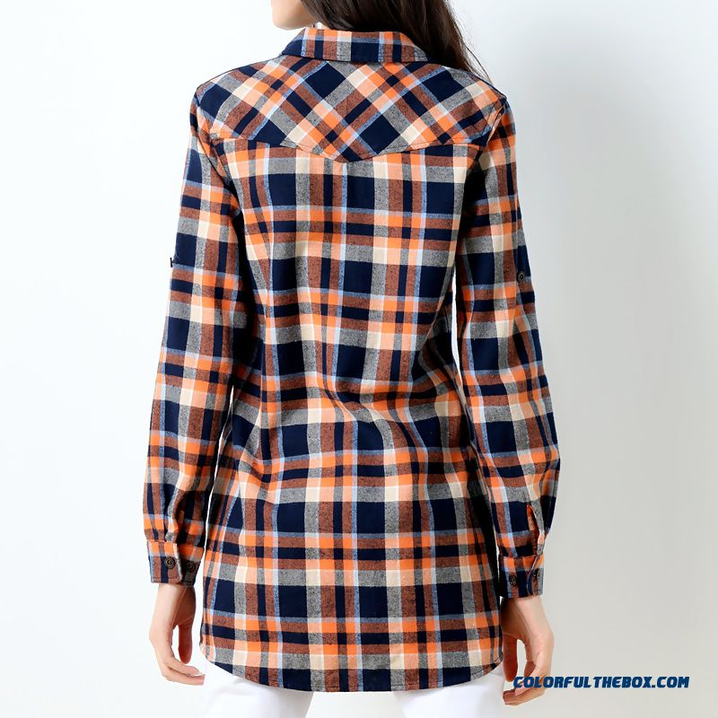 Cheap cheap wholesale blouse all match brushed stitching for Where to buy cheap plaid shirts
