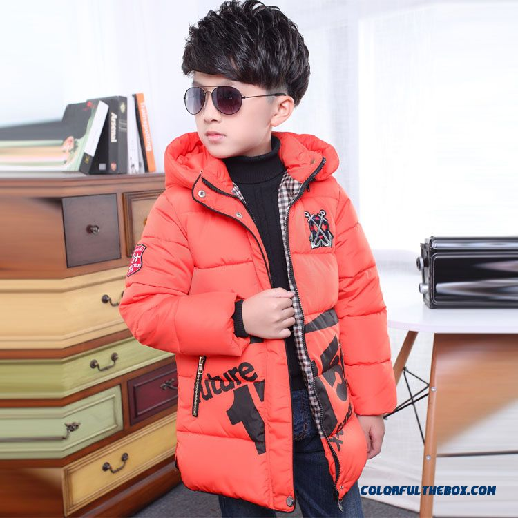 Children's Clothing Boys Winter Cotton - Padded Good Quality Comforable Padded Jacket - more images 1