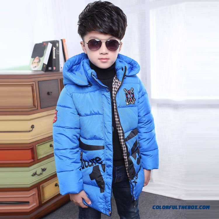Children's Clothing Boys Winter Cotton - Padded Good Quality Comforable Padded Jacket - more images 2