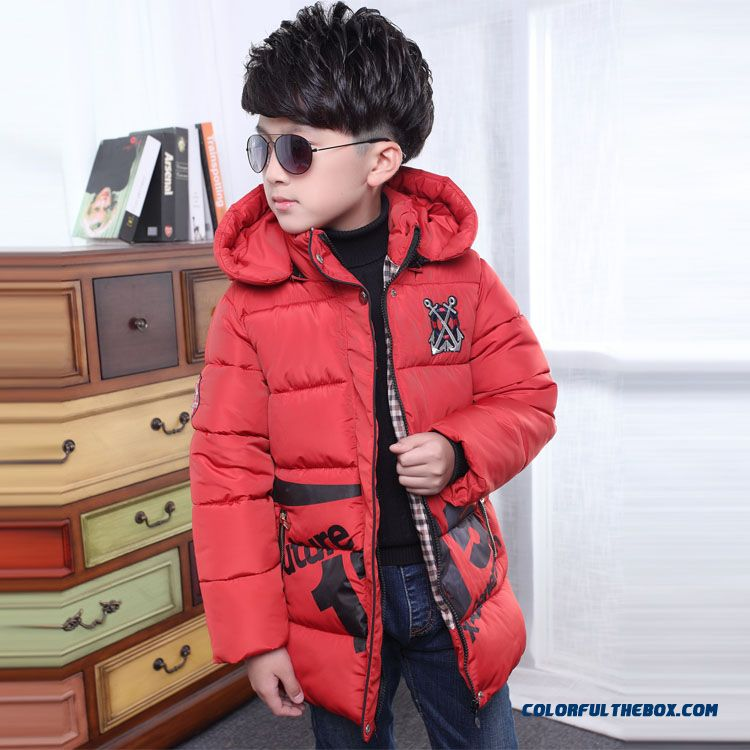Children's Clothing Boys Winter Cotton - Padded Good Quality Comforable Padded Jacket - more images 3