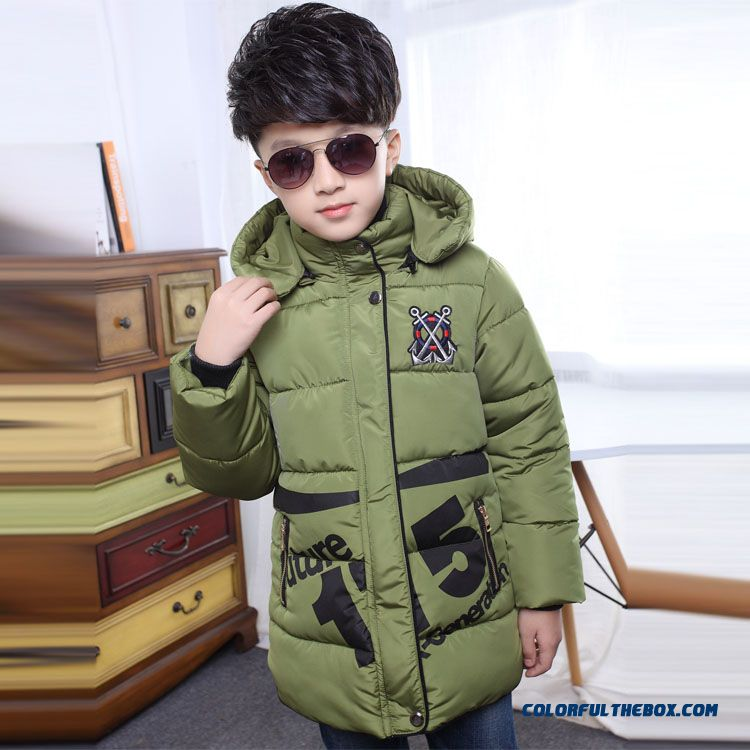 Children's Clothing Boys Winter Cotton - Padded Good Quality Comforable Padded Jacket - more images 4