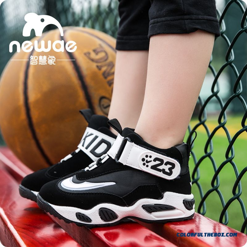 Children's Kids Shoes Hot Sale !!! Boys And Girls Hight Cut Basketball Shoes Comfortable And Breathable Shoes