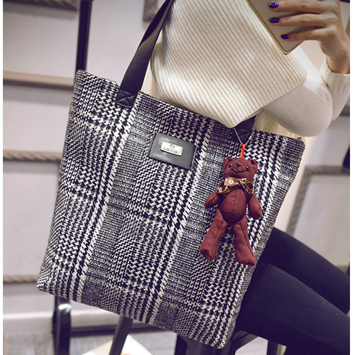 Chinese Original Women Bags High Capacity Art Style Retro Cloth Shoulder Bags - more images 1