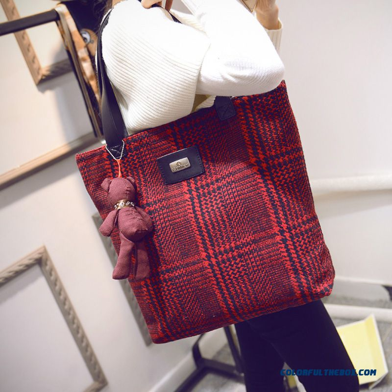Chinese Original Women Bags High Capacity Art Style Retro Cloth Shoulder Bags - more images 2
