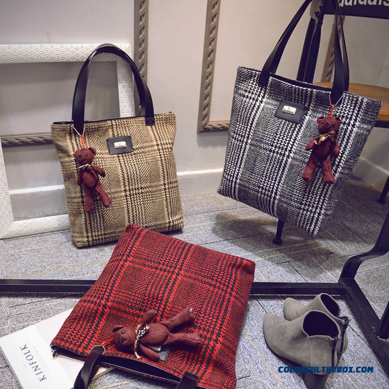 Chinese Original Women Bags High Capacity Art Style Retro Cloth Shoulder Bags - more images 4