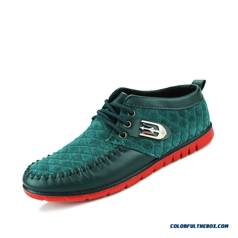 Classic Look Fashion Men Casual Shoes Nubuck British Style