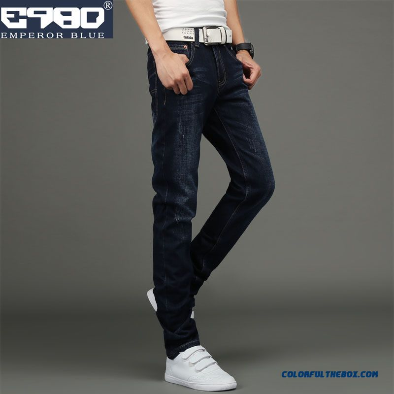 Classic Look Fasion Clothing Slim Straight Men Jeans Long Pants