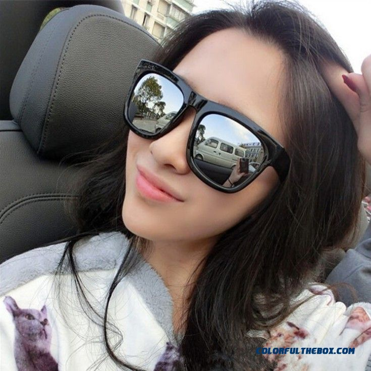 Classic Retro Sunglasses Men And Women Fashion Star Love Anti-uv Sunglasses