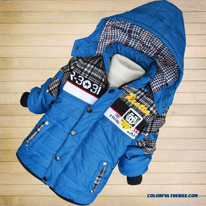 Clearance Children's Clothing Boys Winter Coat Thick Winter Coat Free Shipping