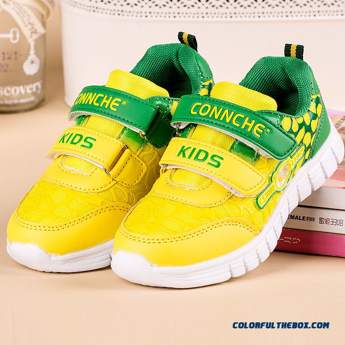 Connche Girls Kids Shoes Breathable Sports Shoes Running Lacedconnche Girls Kids Shoes Breathable Sports Shoes Running Velcro Shoes Comfortable!!! Shoes Comfortable!!!