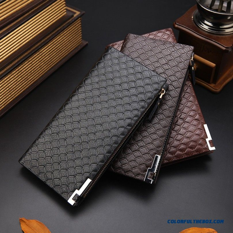 Convenient Simple Men Multifunction Wallets Short Genuine Leather Vogue Multi-card Card Holder Bags