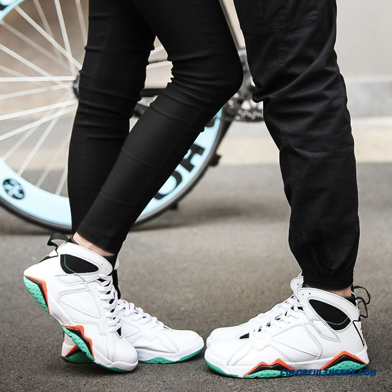 Couple's Shoes Comfortable And Breathable Men Basketball Shoes - more images 4