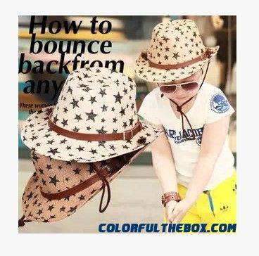 Cowboy Caps Kids Boys Men's Sunshade Hats Large Brimmed Caps Parent-child Design Caps Accessories Summer