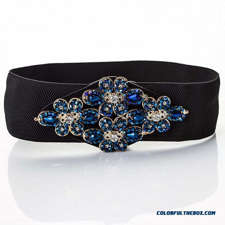 Cummerbun Women Wide Elastic Belt Free Shipping With Dress Sub Decorative Crony Ladies Women