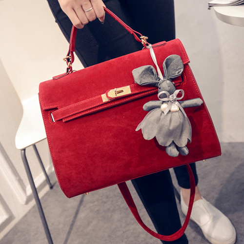 Cute Bunny Pendant Fashionable Women Bags Free Shipping Shoulder Bags