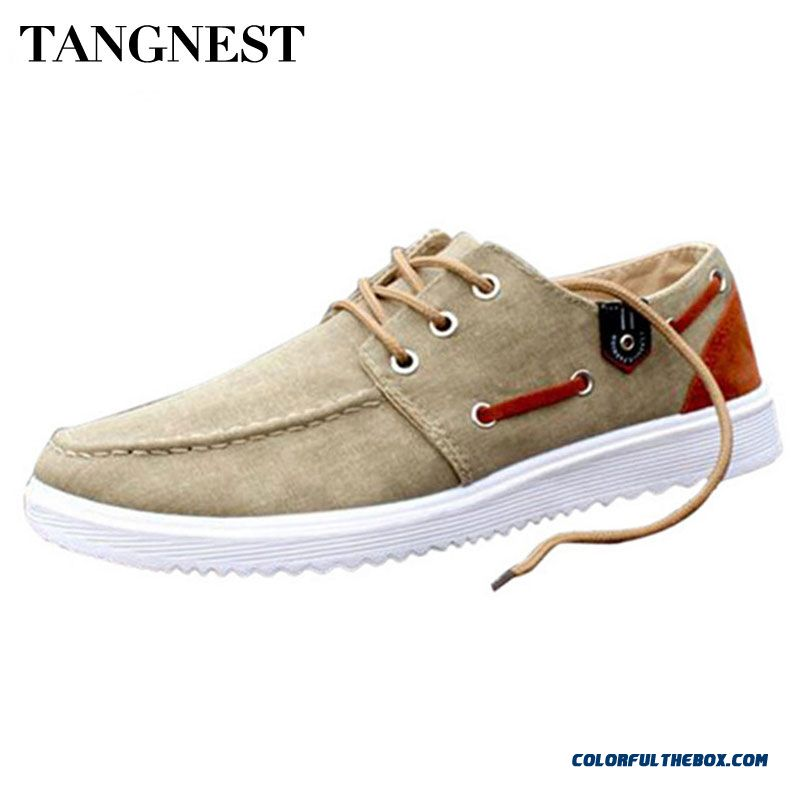 Discount 2016 New Solid Men's Flats Shoes Casual Canvas Man Fashion Summer Shoes For Men Drop Shipping