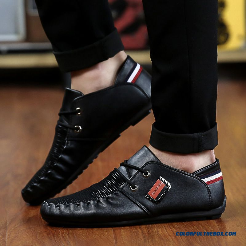 Discount Free Shipping Fashion New 2016 Hot Sale Spring Summer Comfortable Light Men Casual Shoes Breathable Flat Shoes - more images 3