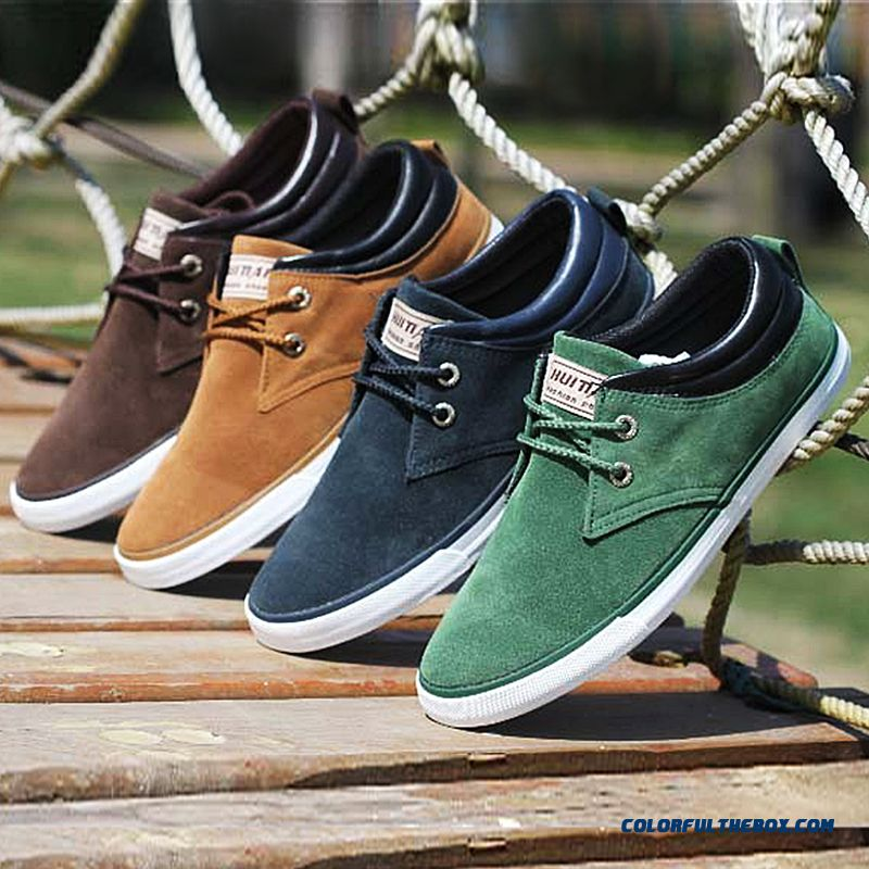 Discount Men Shoes Casual Lace Up Canvas Shoes Men Flats Shoes For Men Trainers Black