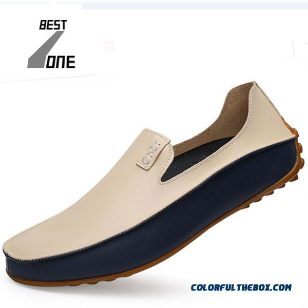 Discount Spring Hot Sale Lazy Shoes Plus Size Breathable Light Leather Doug Men Loafers Casual Shoes Flat Shoes