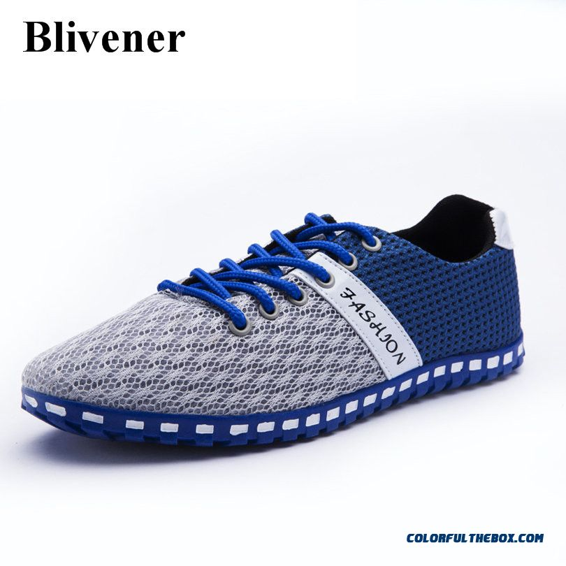 Discount Summer Style Men Mesh Shoes Breathable Outdoor Walking Shoe Comfortable Mens Casual Shoes Zapatos Hombre