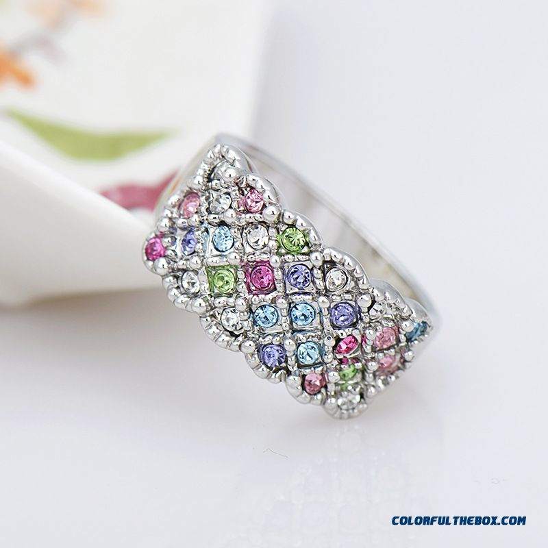 Ethnic Style Factory Direct Selling In Europe And America New Original Women Fine Jewelry Rings