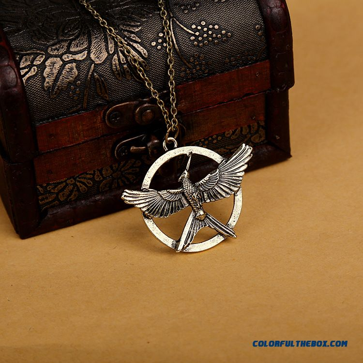 European And American Movies Hunger Games Bird Women's Pendant Factory Outlets