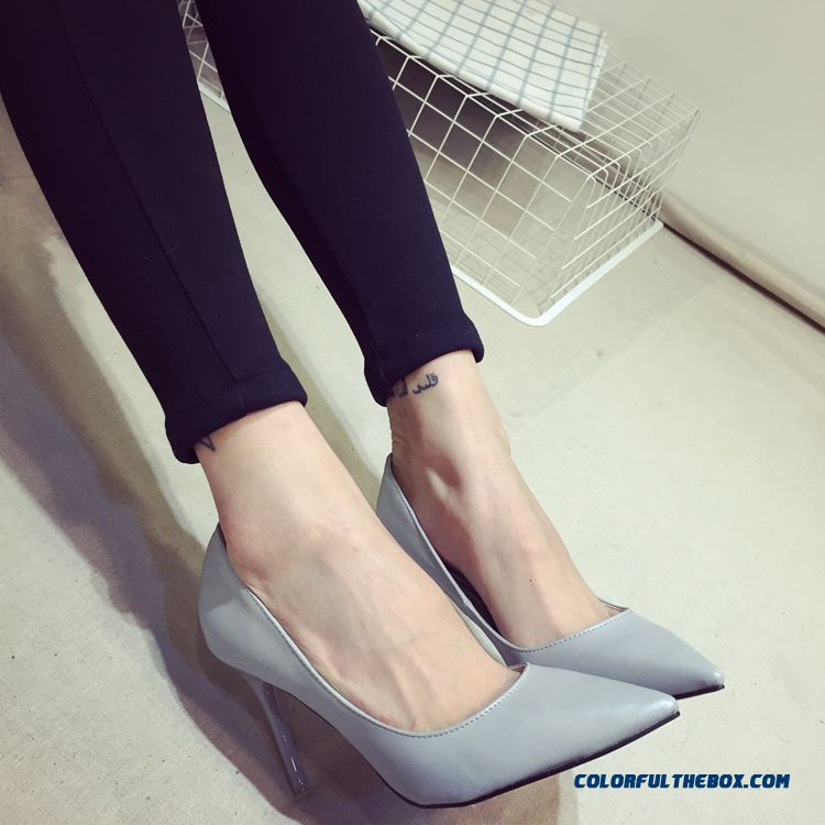 European And American Style Of Sexy Women Pumps Pointed Fine Heel Shoes