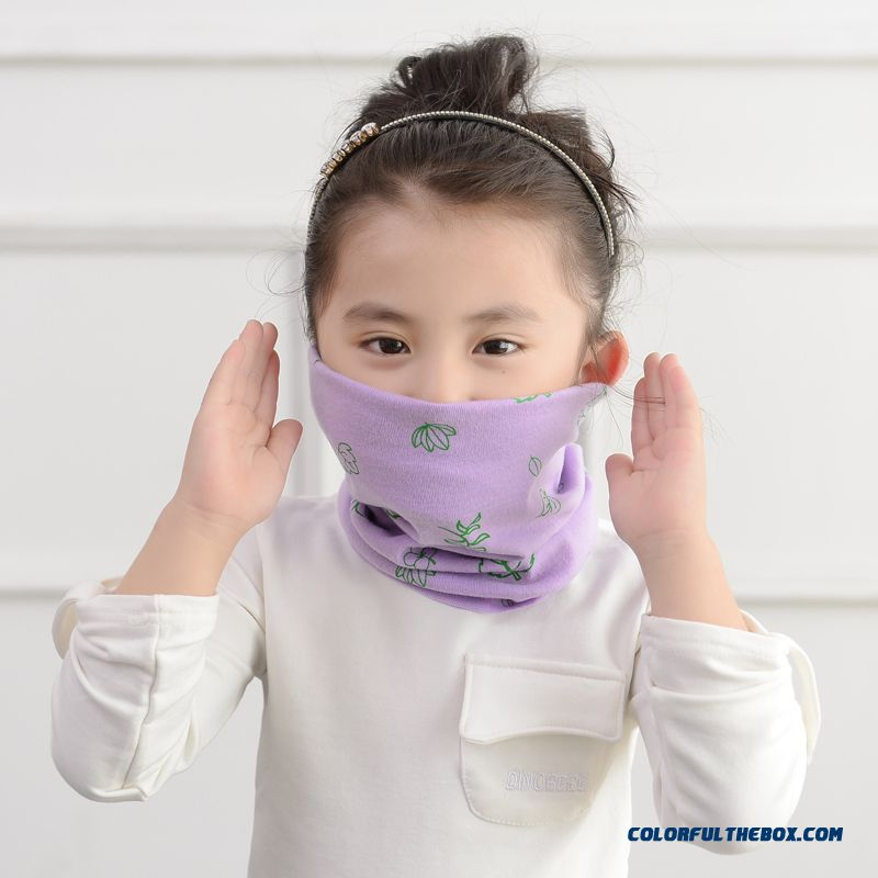 Every Day Special Offer Kids Knitted Scarves Length Less 60cm Skin-friendly Girls Accessories