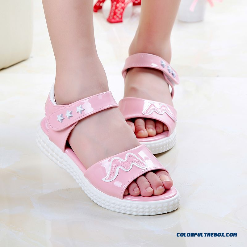Exclusive Design Sales Parent-child Shoes Girls Summer Pretty Sandals Free Shipping Kids Shoes - more images 1