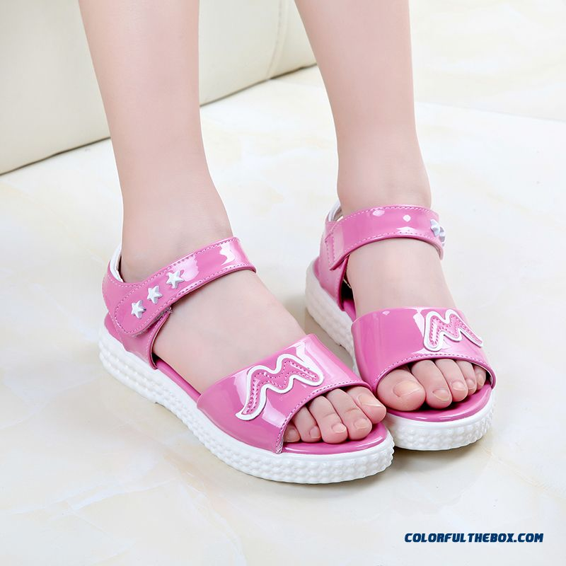 Exclusive Design Sales Parent-child Shoes Girls Summer Pretty Sandals Free Shipping Kids Shoes - more images 2
