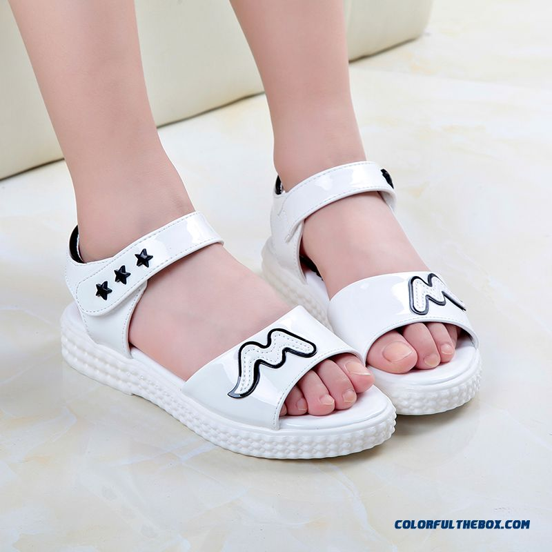 Exclusive Design Sales Parent-child Shoes Girls Summer Pretty Sandals Free Shipping Kids Shoes - more images 3