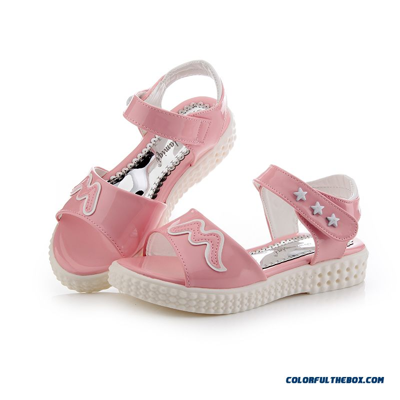 Exclusive Design Sales Parent-child Shoes Girls Summer Pretty Sandals Free Shipping Kids Shoes - more images 4