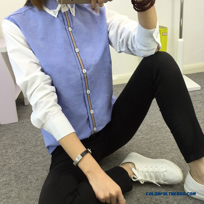 Exclusive Slim Version Of Model Blouse Formal Wear Overalls Large Size Women's Shirt